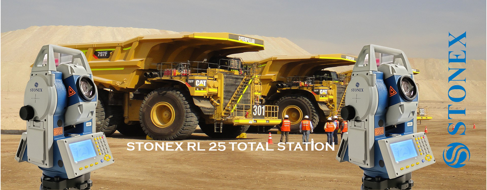 STONEXRL25-TOTALSTATİON