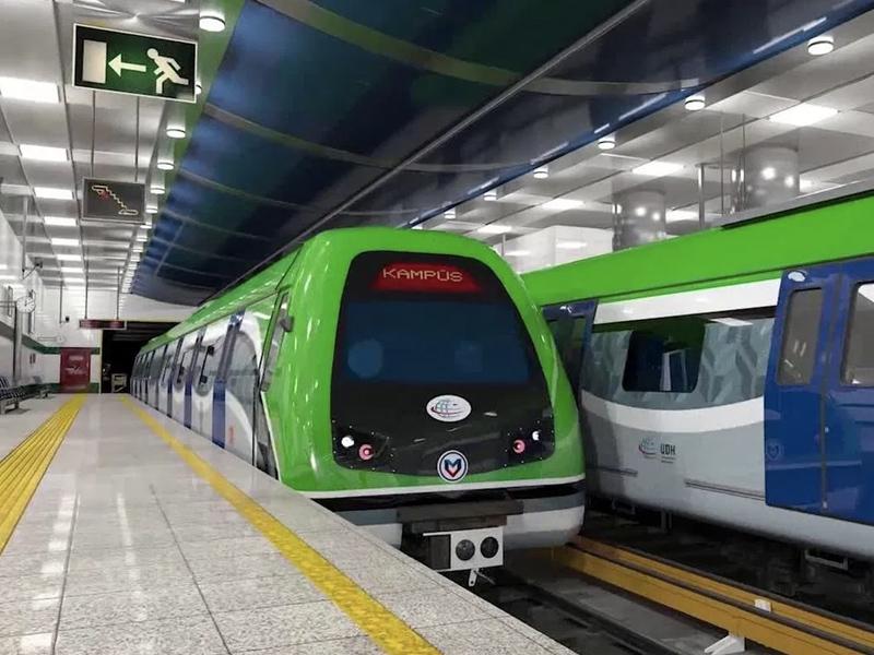 Taşyapı Konya Metro Şantiyesi